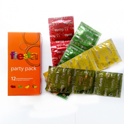 Fiesta Party Pack 12's Condom